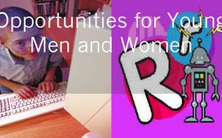 Opportunities for young men and women